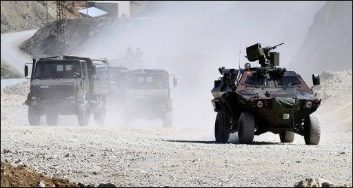 L'Armée Turque poursuit le PKK en territoire Irakien