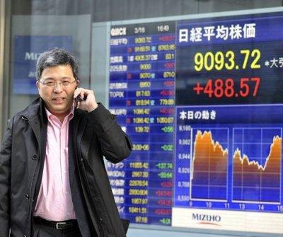 L'Europe au secours de la Bourse de Tokyo