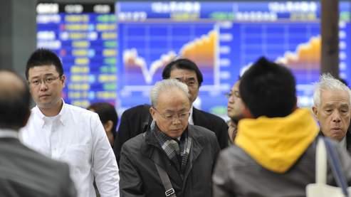 Les Bourses asiatiques pénalisées par la crise économique chinoise.