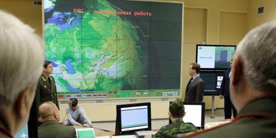 Russie : mise en place du système d'alerte antimissile