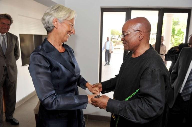 L'économie sud-africaine selon Lagarde