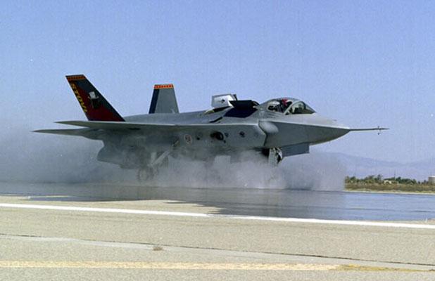 La version navale du F-35 incapable d'apponter