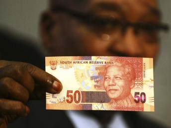 Afrique du Sud : Des billets de banque à l'image de Mandela