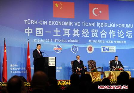 Turquie -Chine : Nouveaux accords et conventions