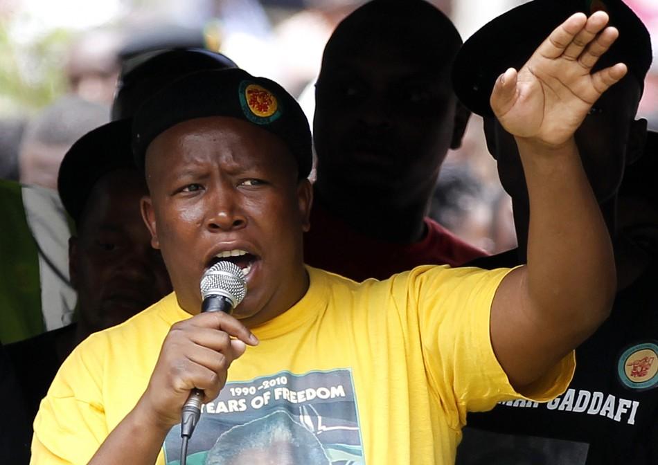 Afrique du Sud : L'ANC exclut Julius Malema