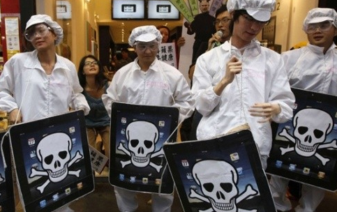 Chine : Le travail pénible des ouvriers d'Apple