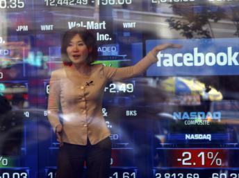 USA : Facebook rate son entrée en Bourse