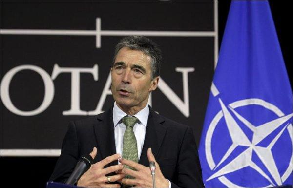 Le bouclier de l'OTAN avance dans la douleur