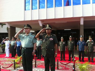Chine/Cambodge : Renforcement de la coopération militaire