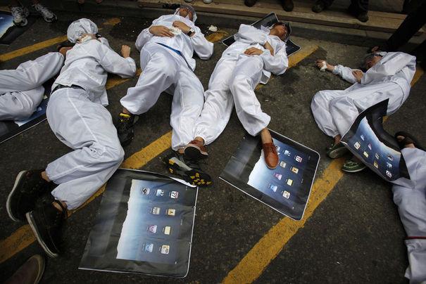 Chine : Apple à nouveau accusé pour ses conditions de travail