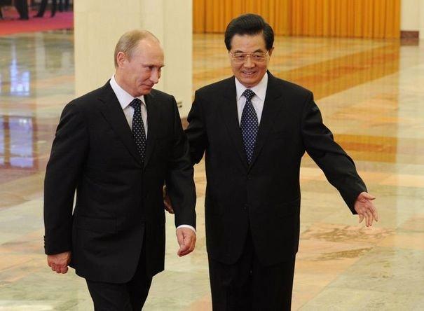 Chine : Visite de Vladimir Poutine