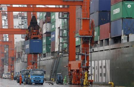 Japon : Déficit commercial enregistré