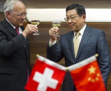 Suisse/Chine : Vers un accord de libre-échange
