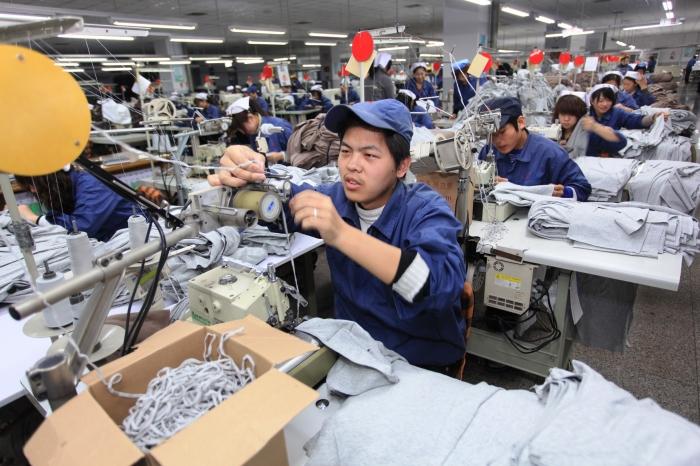 Chine: Chère main d'œuvre