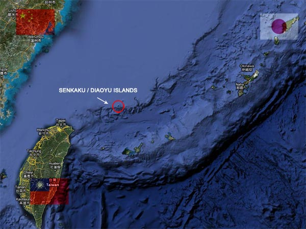 Le différend territorial sino-japonais sur les îlots en mer de chine