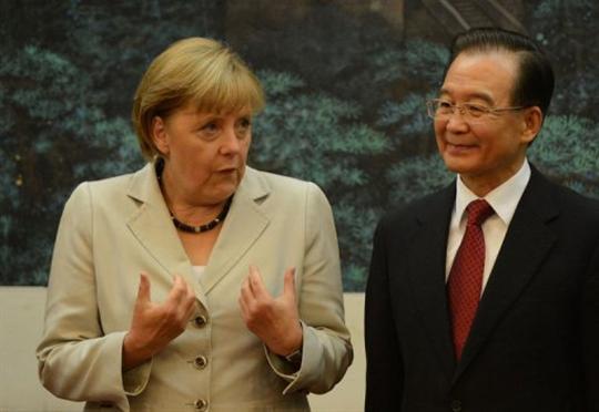 La Chine pour soutenir l'Europe en crise