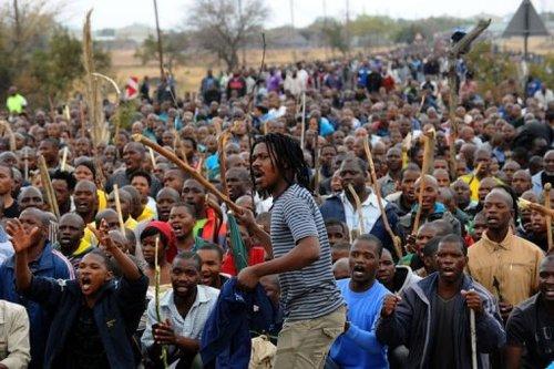 Afrique du Sud : climat très tendu à Marikana