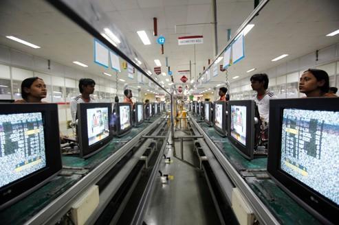 Inde : la production industrielle s'améliore très timidement