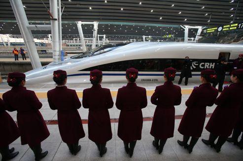 Chine : ligne de TGV et points d'interrogations