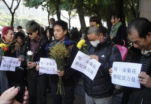 Chine : la liberté des médias mobilise les foules
