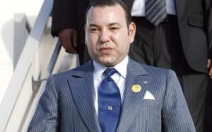 Le Roi du Maroc a Dakar