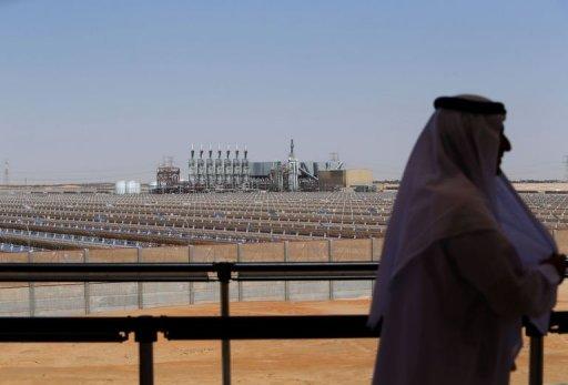 E.A.U : la centrale solaire Shams 1 en marche