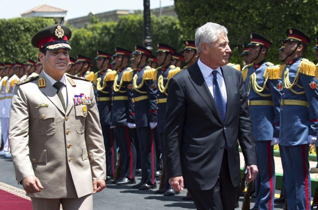 Hagel renouvelle le soutien des USA à l'Egypte