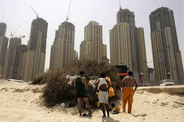 Le travail forcé des étrangers au Moyen-Orient