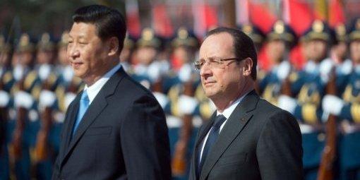 La France plie face à la Chine