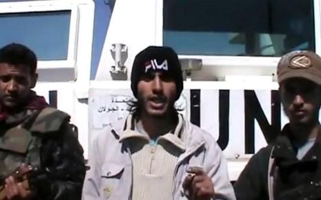 Des observateurs de l'ONU enlevés par un groupe rebelle au Golan