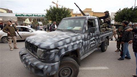 Libye : déconfiture du gouvernement face aux miliciens