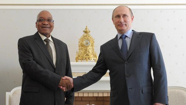 Rapprochement économique entre la Russie et l'Afrique du Sud