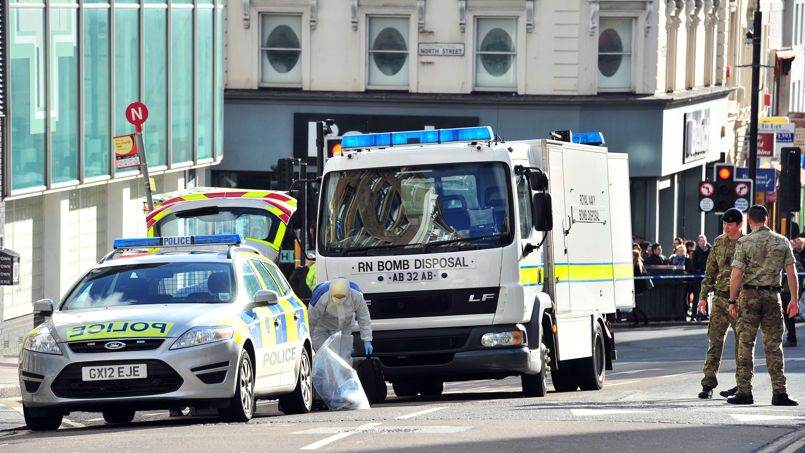 Grande-Bretagne : Découverte d'engins explosifs au sein de l'armée