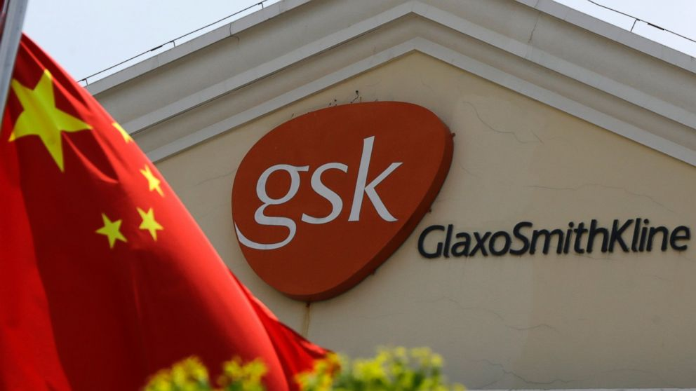 Chine : Amende record pour GSK ,coupable de corruption