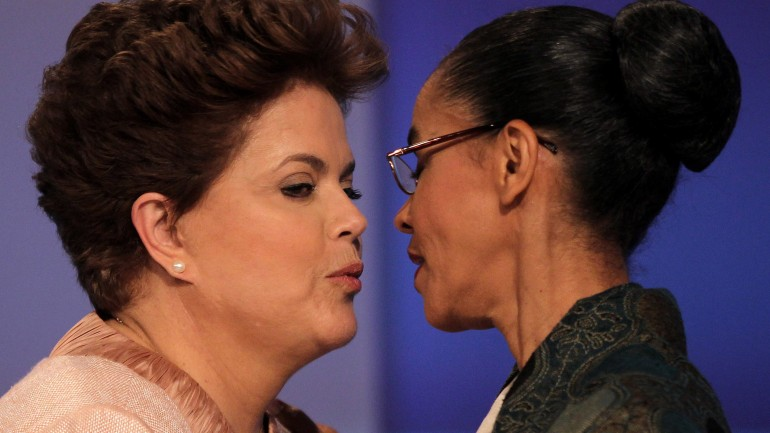 Brésil : Duel serré entre Dilma Roussef et Marina Silva
