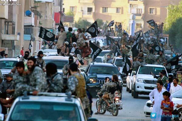 Progression de l'afflux des djihadistes étrangers en Syrie et en Irak