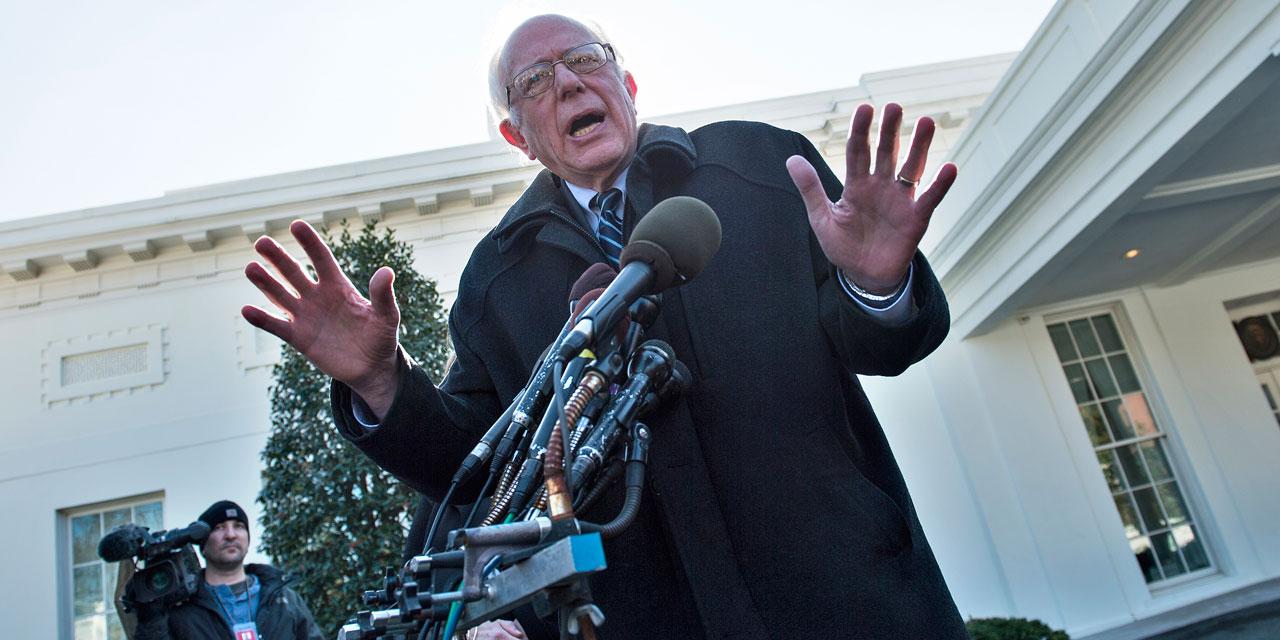 USA-Primaires démocrates : Obama reçoit Bernie Sanders