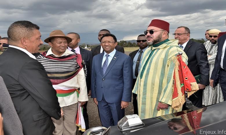 Madagascar: Le roi du Maroc se dit un fervent partisan de la coopération sud-sud en Afrique