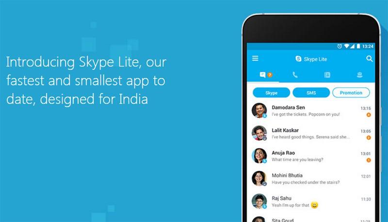 Microsoft livre une version mobile de Skype adaptée au marché indien