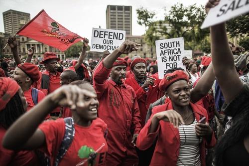 L'Afrique du Sud théâtre de nouvelles manifestations anti-Zuma