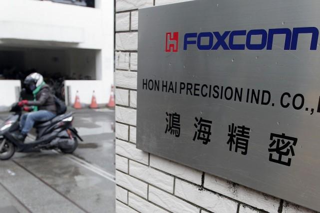 Gros investissement de Foxconn aux Etats-Unis