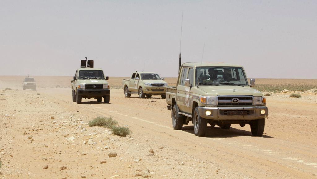 Un check-point de l'armée nationale libyenne, ciblé par une attaque djihadiste