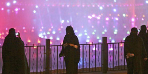 Les Saoudiennes admises pour la première fois dans un stade