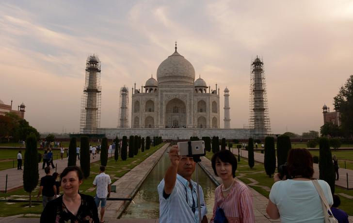 Inde: Restriction du nombre de visiteurs du Taj Mahal