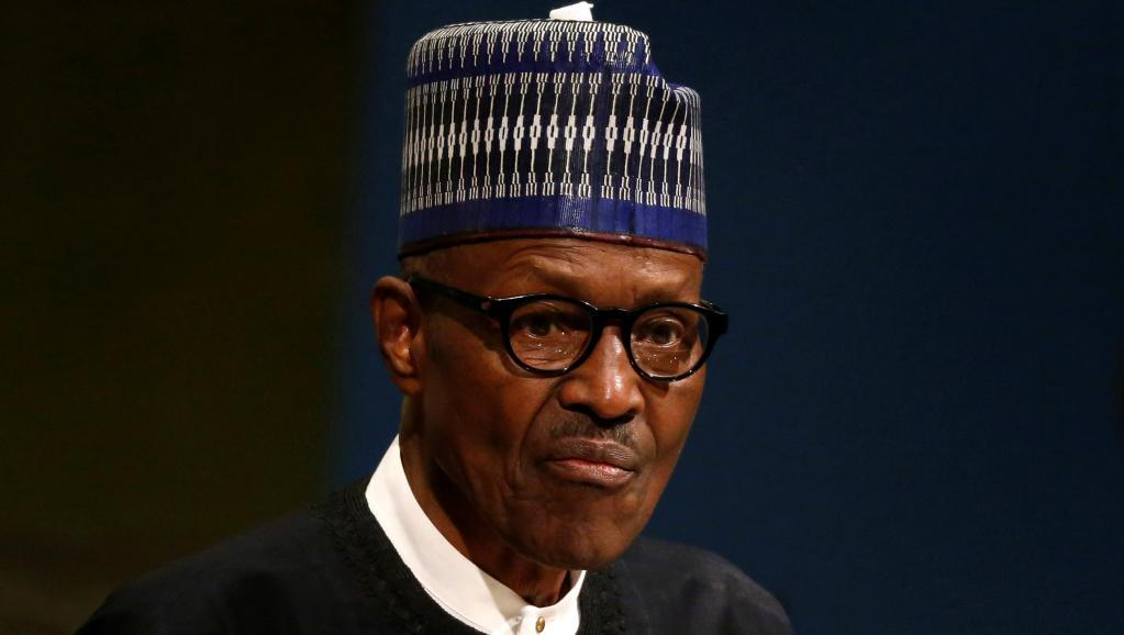 Le président nigérian Muhammadu Buhari aux Etats-Unis