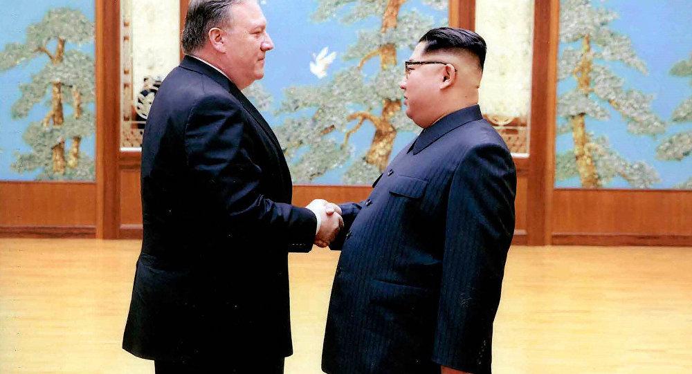 Le secrétaire d'Etat américain en Corée du Nord