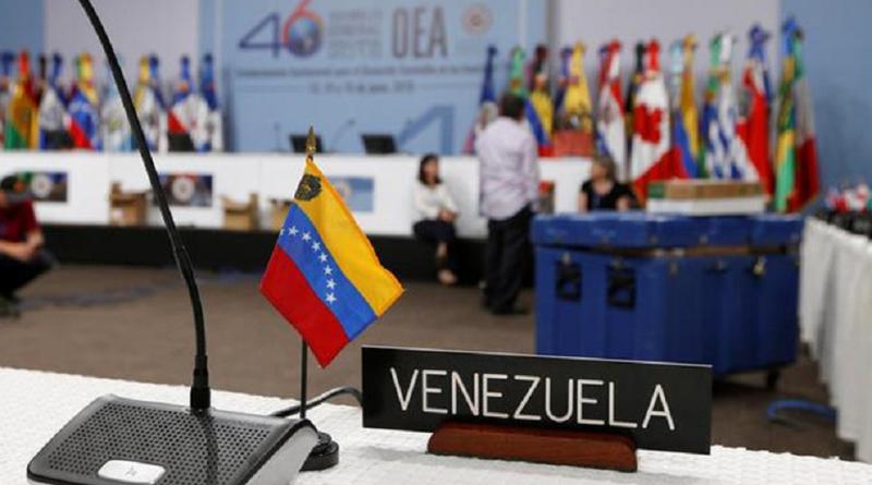 Washington réclame la suspension du Venezuela de l'Organisation des Etats Américains
