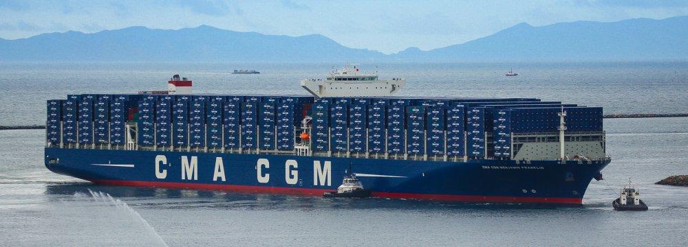 Le français CMA-CGM annonce son retrait de l'Iran pour éviter les sanctions américaines