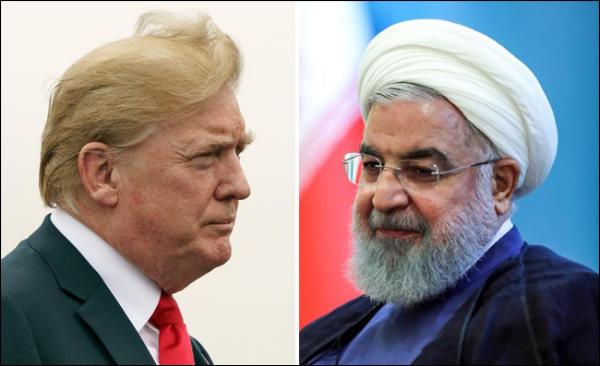 Le président Trump met en garde son homologue iranien Rouhani