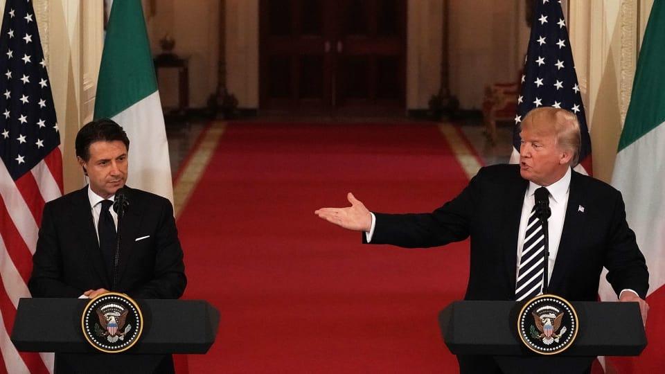 Etats-Unis : Trump salue la politique migratoire italienne
